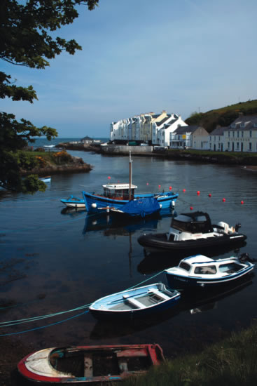 Harbour on the Antrim Coast